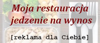 Reklama test jedzenie na wynos